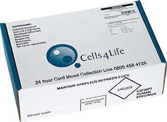 The Cells4life Cord Blood Collection Kit Cells4life