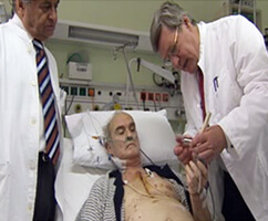 Pioneering heart surgery saves man's life