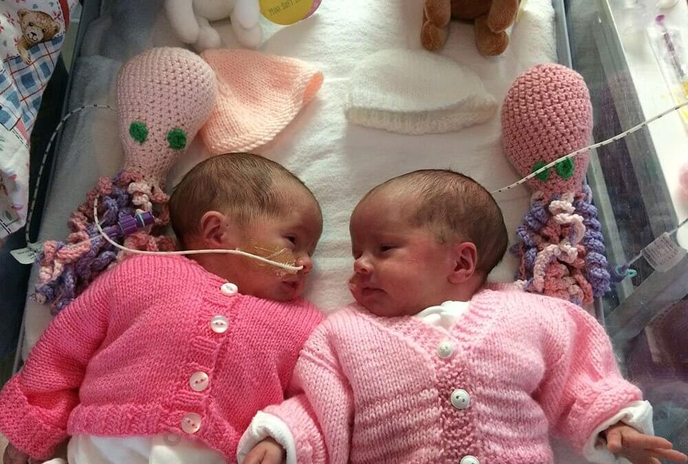 Crochet octopuses help premature babies